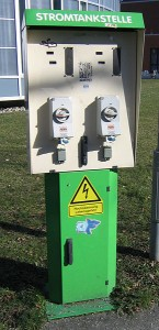 Elektroautos sollten stets auch mit Ökstrom betankt werden, um die Nachhaltigkeit zu gewährleisten.