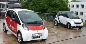 Studien gehen davon aus, dass Elektroauto und Carsharing eine goldene Zukunft bevorsteht.
