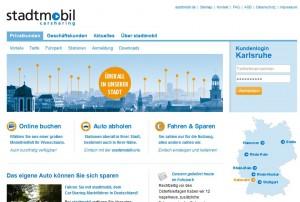 Stadtmobil Karlsruhe bietet ab sofort auch Carsharing mit einem Elektroauto.