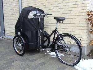 Ein neuer P2P-Service bietet Bikesharing mit einem Lastenrad bzw. Transportrad. Eine umweltfreundliche Alternative zum automobilen Transporter.