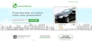 Nachbarschaftsauto.de ist ein bundesweit agierender und interessanter Anbieter für privates Carsharing.
