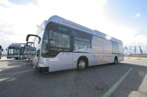 Mehr Nachhaltigkeit in der Hamburger Mobilität. Die Hochbahn setzt künftig verstärkt auf Wasserstoff- und Hybridbusse.