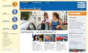 Kluger Schachzug: Cambio bietet fortan auch Carsharing für Fahranfänger.