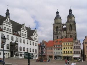 Endlich wieder Carsharing: in Wittenberg wurden die beiden Stationen von teilAuto in Betrieb genommen.