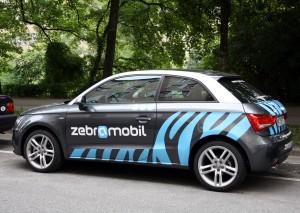 Fahrzeug ZebraMobil