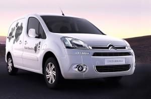 Der französische Automobilhersteller Citroën präsentiert sich auf der eCarTec in München. Einer der Schwerpunkte ist das Carsharing.