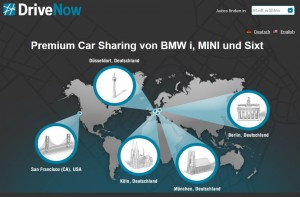 Preisgekrönt: DriveNow Carsharing sicherte sich den ÖkoGlobe 2012 und wurde für seine flexible Mobilität ausgezeichnet.