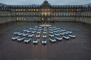 Carsharing in Stuttgart: Car2Go startet gemeinsam mit EnBW und der Landesregierung Baden-Württemberg.
