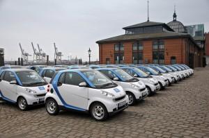 Gelungene Kundenansprache: der Carsharing -Anbieter Car2Go erhält den Hamburger Marketing-Award 2012.