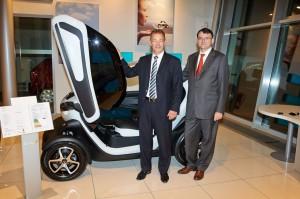 Initiative für das Elektroauto: gemeinsam mit dem Partner ALD baut Renault das Leasingangebot aus.