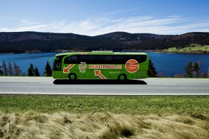"""Die MFB MeinFernbus GmbH gewinnt den Internationalen busplaner Nachhaltigkeitspreis 2013 in der Kategorie """"Carrier""""."""