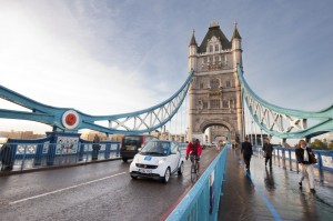 London Calling: der Carsharing -Anbieter Car2Go expandiert in die britische Hauptstadt.