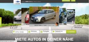 Neue Plattform für das private Carsharing: Daimler kooperiert mit Autonetzer und ruft car2share ins Leben.