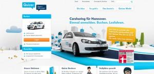 Erweitert den Radius: Quicar bietet noch mehr Carsharing in Hannover.