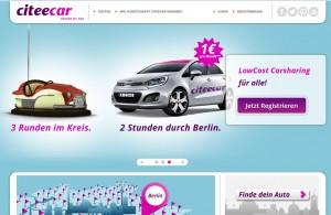 Offensive bei CiteeCar: der Carsharing -Anbieter plant aus Berlin die Expansion in sieben weitere deutsche Städte.