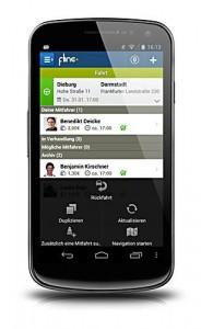 Mobilität mit mehr Nachhaltigkeit: die Android-App flinc ermöglicht das Finden und Anbieten von Mitfahrgelegenheiten.