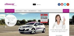 """Der Carsharing -Anbieter Citee Car weitet seinen Geschäftsbereich nun auch auf die Hansestadt Hamburg aus. In einem Slogan ist von """"unschlagbar günstigen"""" Konditionen die Rede."""