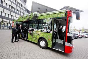 Mehr Nachhaltigkeit in der Mobilität: die Stadtwerke Osnabrück setzen gleichermaßen auf E-Carsharing wie auf den Einsatz von Elektro-Bussen.