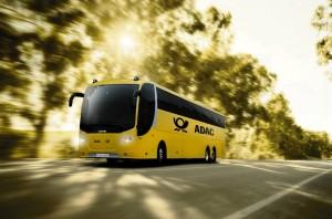 Mehr Nachhaltigkeit in der Mobilität: der ADAC Postbus startet noch in diesem Jahr in den Fernbus -Markt.