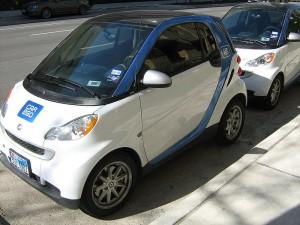 Erste Zweifel: angesichts der Free-Floating-Modelle wird die Frage nach der Nachhaltigkeit im Carsharing laut.