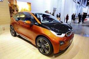 Neues Elektroauto für die Serienproduktion: der BMW i3 begeistert schon jetzt durch eine Fülle an Features.