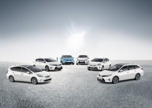 Vorbild in Sachen Nachhaltigkeit: die Fahrzeugflotte von Toyota zeichnet sich durch die niedrigsten CO2-Emissionen aus.