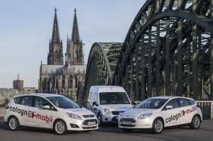"""Mehr Nachhaltigkeit in der Kölner Mobilität: das Projekt """"colognE-mobil"""" setzt auf das Elektroauto."""