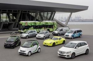 Marktführer im Bereich Elektroauto: Mercedes-Benz und Smart erreichten im ersten Halbjahr 2013 einen Marktanteil von 42 Prozent.