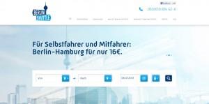 Berlin Shuttle: der neue Dienst präsentiert eine neue Form von Mobilität mit einer Prise Carsharing.