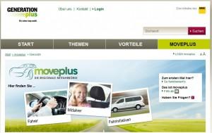 Nachhaltigkeit beim ADAC: unter dem Namen Moveplus ist die erste regionale Mitfahrbörse gestartet.