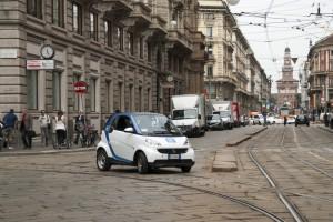 Expansion in Richtung Süden: das Carsharing von Car2Go ist fortan auch in der italienischen Metropole Mailand zu finden.