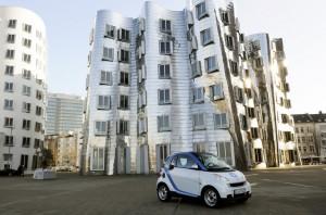 Erweiterung des Geschäftsgebiets: Car2Go bietet mehr Carsharing in Düsseldorf.