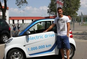 Glückwunsch zu einer Million Kilometer: Das Car2Go Carsharing in Stuttgart ist ein echtes Erfolgsmodell.