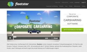 Erweitert: die Carsharing -Software fleetster ist ab sofort auch in niederländischer und englischer Sprache zu haben.