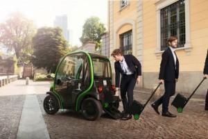 Nachhaltig und stilvoll: der Estrima Birò ist ein Elektroauto mit vielen Besonderheiten.