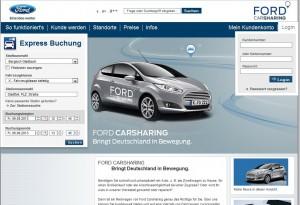 Neues Buchungsplattform für das Carsharing: der Automobilhersteller Ford betritt ein neues Geschäftsfeld.