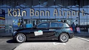 DriveNow weiter auf Expansionskurs: neuerdings wird das Carsharing auch am Flughafen Köln/Bonn angeboten.