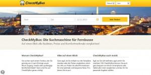 Neue Suchmaschine für den Fernbus: CheckMyBus soll den unübersichtlichen Markt ordnen helfen.