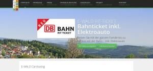 Carsharing im Bayerischen Wald: das Projekt E-Wald beweist, dass auch in ländlichen Regionen großes Potenzial vorhanden ist.