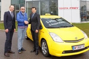 Mit dem Toyota Prius hat ein  Elektroauto bzw. Hybridauto die Marke von einer Million gefahrener Kilometer geknackt.
