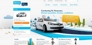 Noch viel Potenzial in Niedersachsen: im VW-Land liegt das Carsharing im Bundesdurchschnitt deutlich zurück.