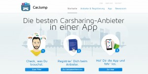 Mehr Budget für frische Ideen: die Carsharing -App Carjump wurde mit einer Investition in sechsstelliger Höhe bedacht