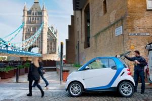 Das Aus für das Carsharing in London: aufgrund administrativer Hürden hat die Daimler-Tochter ihr Projekt wieder eingestellt.