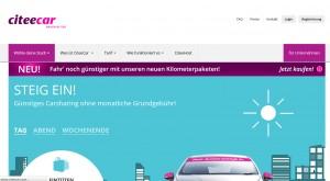 Neue Idee von CiteeCar: Carsharing für Unternehmen und Start-Ups.