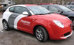 Carsharing in Wien erfolgreich: Flinkster plant nun auch Werbung auf den eigenen Fahrzeugen.