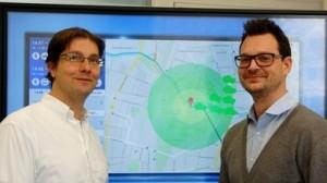 Neue Technologie im Carsharing: eine Siemens-Software hilft bei der Vorhersage künftiger Positionen.
