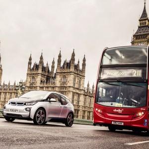 Expansion im Carsharing: DriveNow stellt in London gleich 30 neue BMW i3 vor und erweitert seine Elektro-Flotte.
