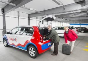 Positive Zwischenbilanz: das Carsharing in Osnabrück entwickelt sich laut dem Anbieter flow>k durchaus zufriedenstellend
